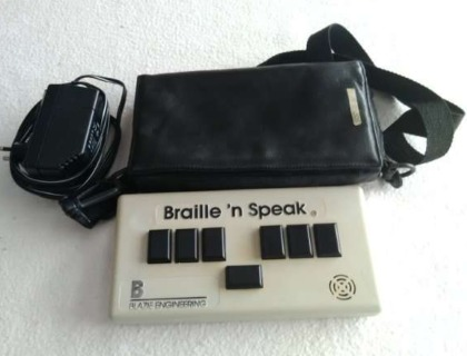 Braille speak o Braille hablado