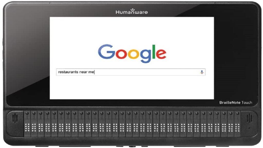 tableta braillenote touch plus