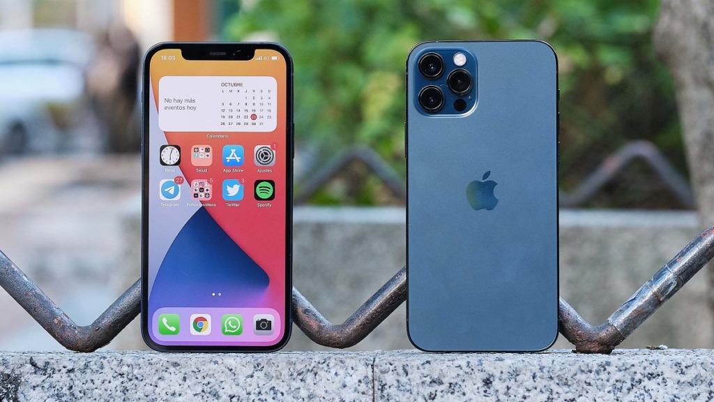 imagen de un iphone por delante y por detrás