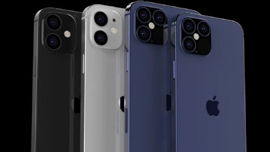 imagen de varios modelos de iphone