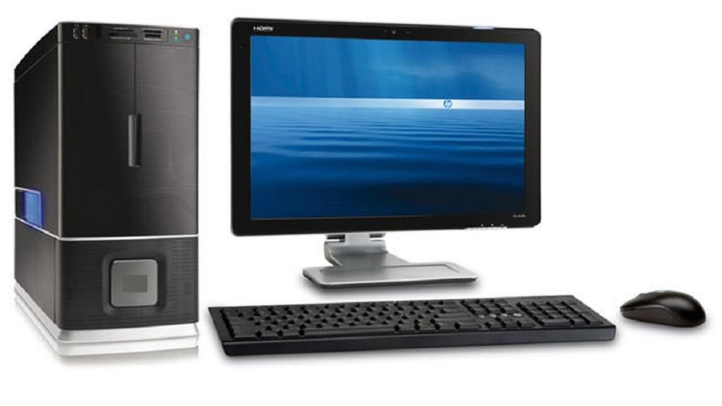 mejores ordenadores para personas con discapacidad visual: imagen de un ordenador de escritorio Windows