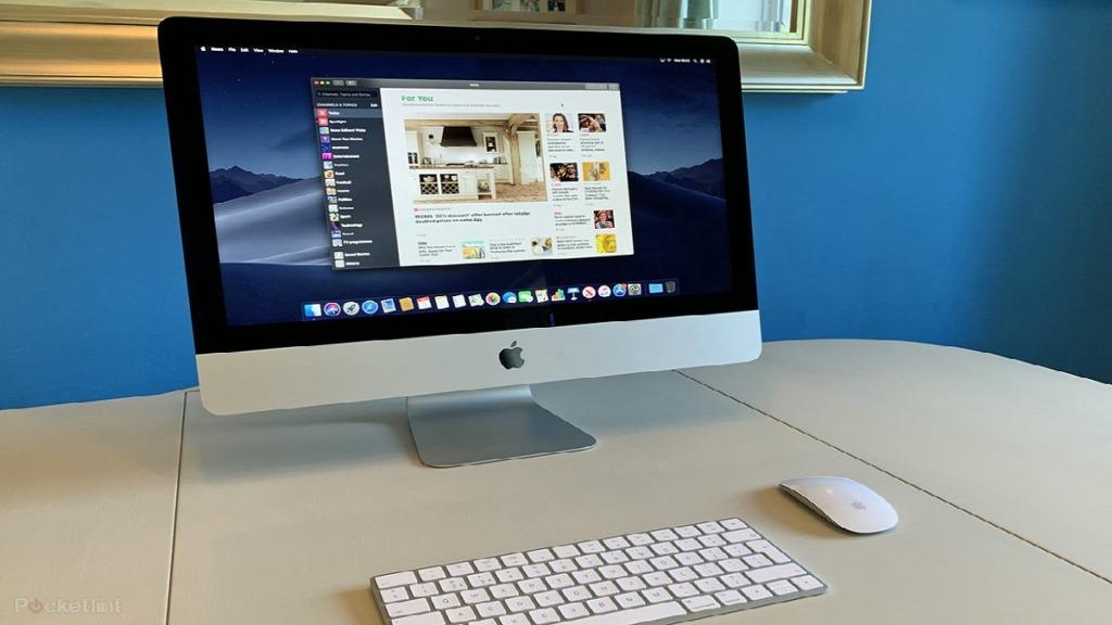 mejores ordenadores para personas con discapacidad visual: imagen de un ordenador de escritorio Mac