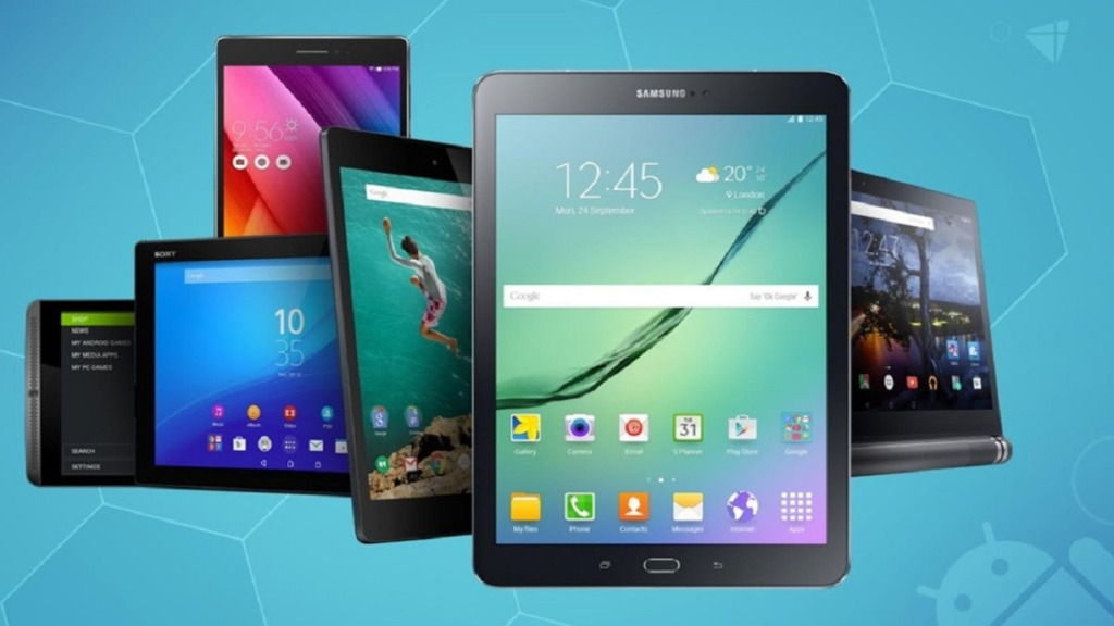 mejores ordenadores para personas con discapacidad visual: imagen de tabletas Android