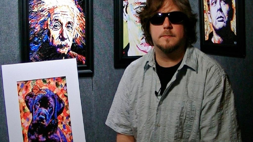pintores ciegos: john bramblitt