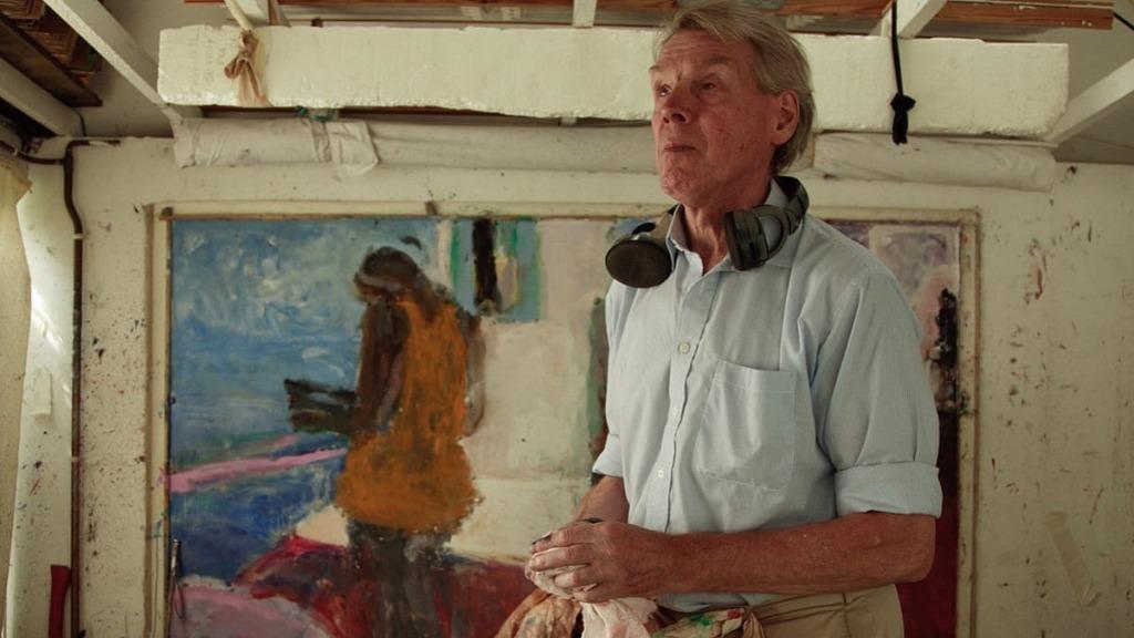 pintores ciegos: imagen del pintor sargy mann