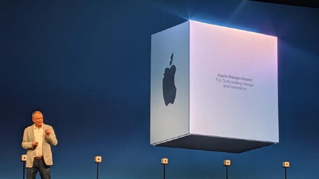 apple design awards: imagen del acto de entrega de premios