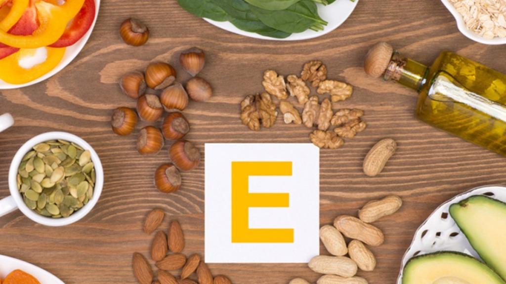 mejorar la vista: imagen de alimentos ricos en vitamina E