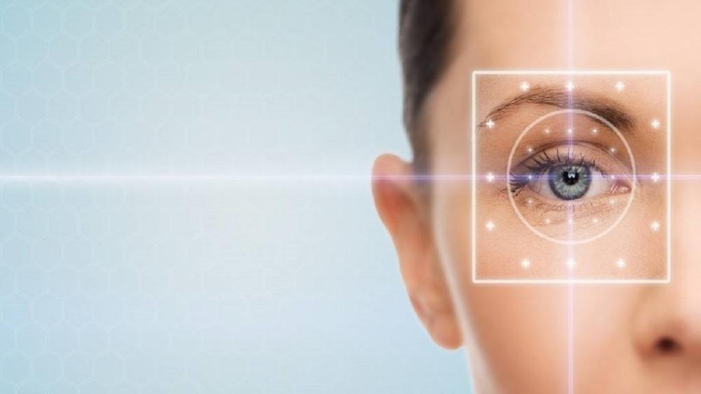 pérdida de visión periférica: imagen de un ojo