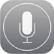 accesibilidad apple: imagen del logo de dictation