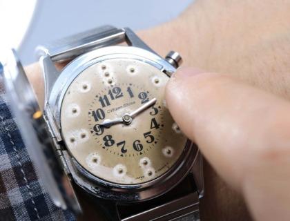 reloj para discapacitados visuales