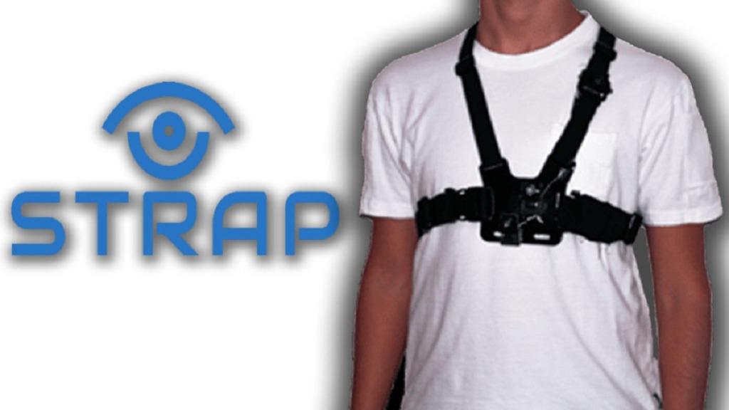 strap: imagen del dispositivo llevado por una persona