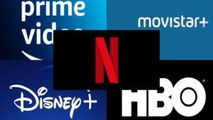accesibilidad de plataformas de streaming: imagen de los logos de algunas plataformas