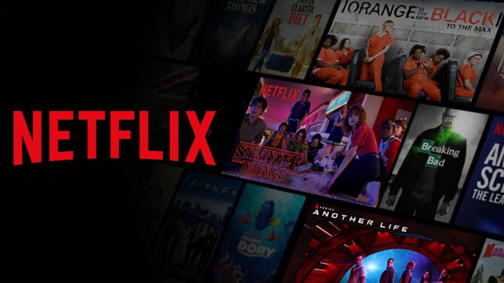 accesibilidad de plataformas de streaming: imagen de la oferta de contenidos de Netflix