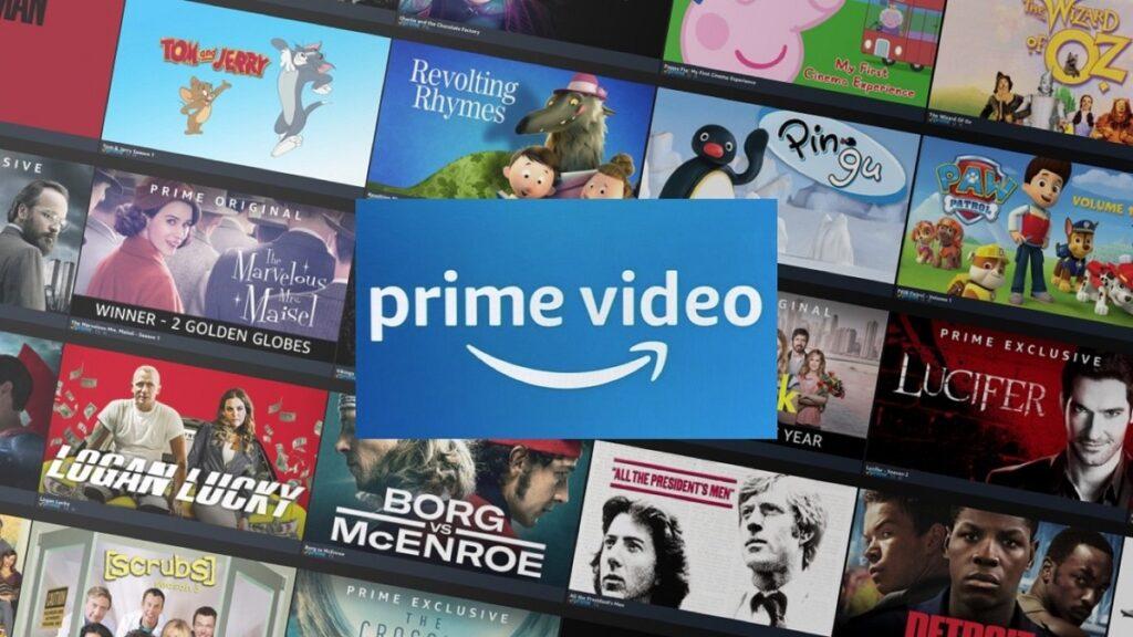 accesibilidad de plataformas de streaming: imagen de la oferta de contenidos de Amazon Prime Video