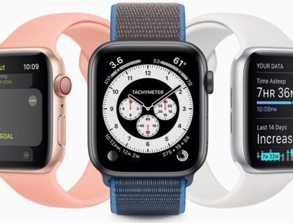 apple watch: imagen de diferentes modelos