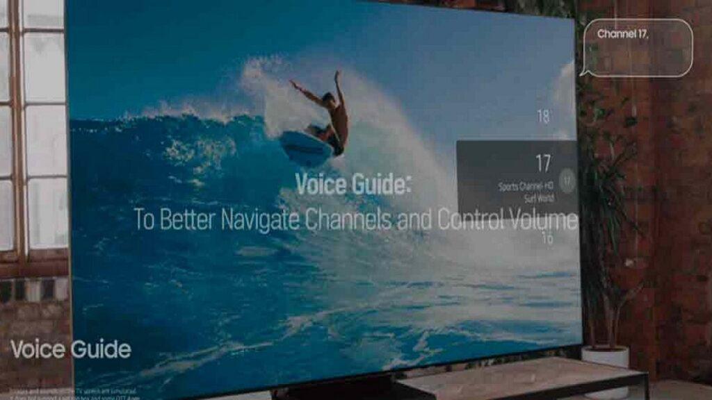 televisores accesibles: imagen de un televisor accesible