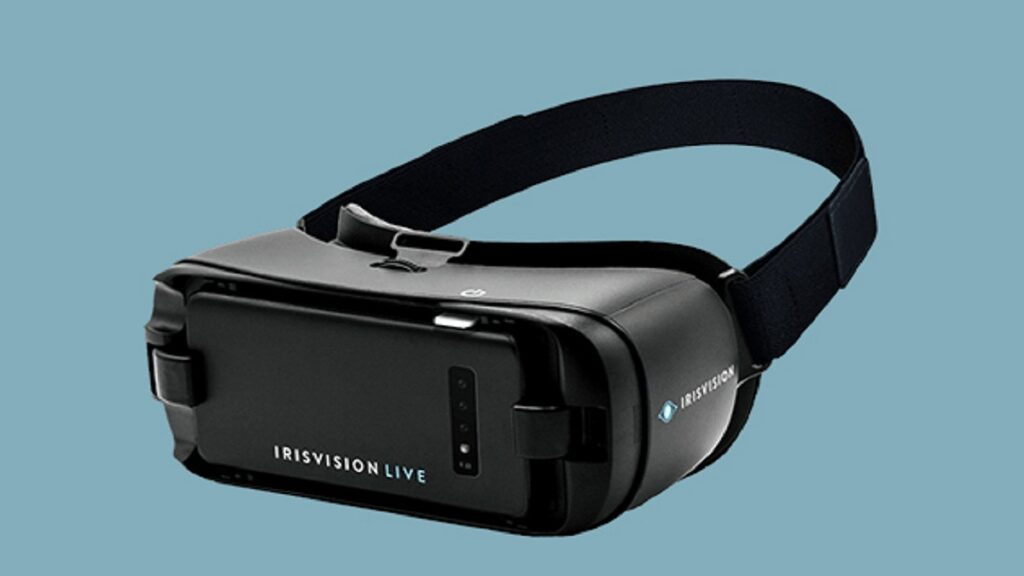 irisvision: imagen del dispositivo