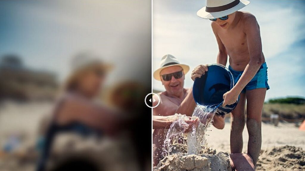 irisvision: imagen de una de las funcionalidades del dispositivo