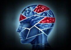 imagen de la silueta de una persona con daño cerebral.