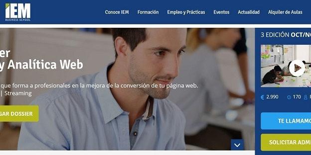 Máster CRO y Analítica Web.