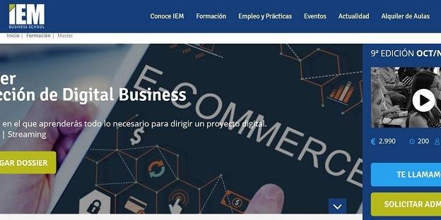Máster Dirección de Digital Business.