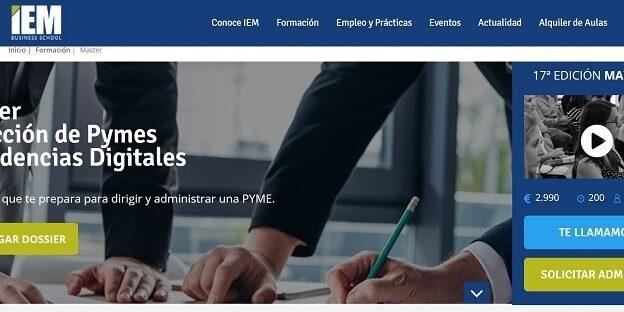 Máster Dirección de Pymes y Tendencias Digitales.