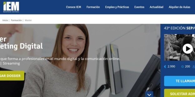 Máster Marketing Digital.