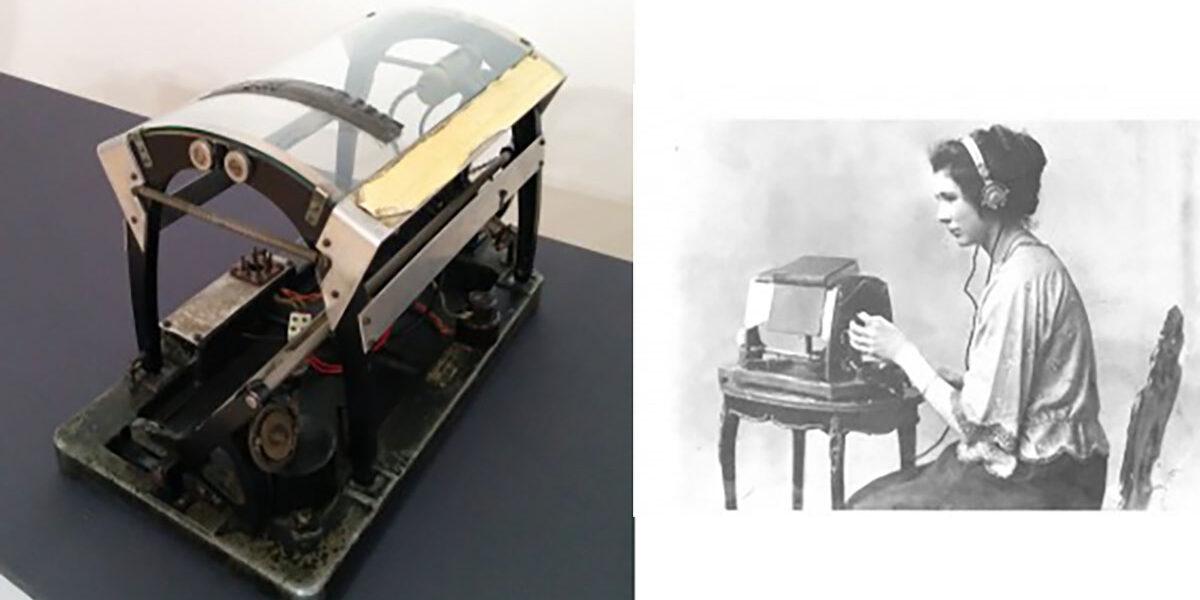Optófono antiguo