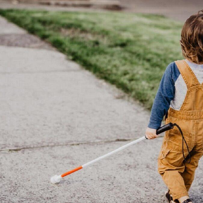 preparar niños ciegos para la vida
