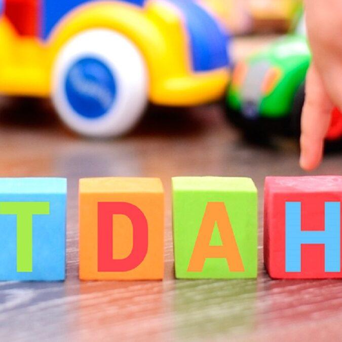 imagen de juguetes para niños con trastorno de déficit de atención con hiperactividad.